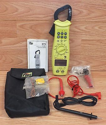 Tpi 275 Clamp-on Tester With True Rms Digital Multimeter Digital Display Read