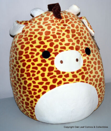 """Gary the Giraffe HUGE 20"""" 20 Inch New With Tags! Kellytoy Squishmallow"""