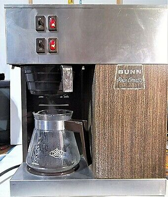 Vintage Bunn Pour-omatic Vpr Commercial Coffee Machine