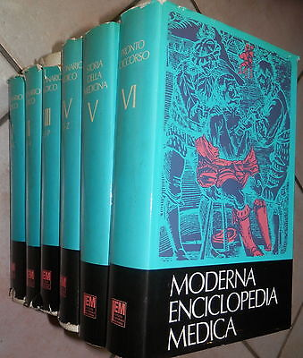 MODERNA ENCICLOPEDIA MEDICA Istituto Editoriale Moderno 1969 Dizionario Storia segunda mano  Embacar hacia Argentina