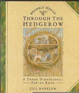THROUGH THE HEDGEROW 3D Pop-Up Book ~ Jill Barklem 1st Ed HC 1993 Perth Region Preview