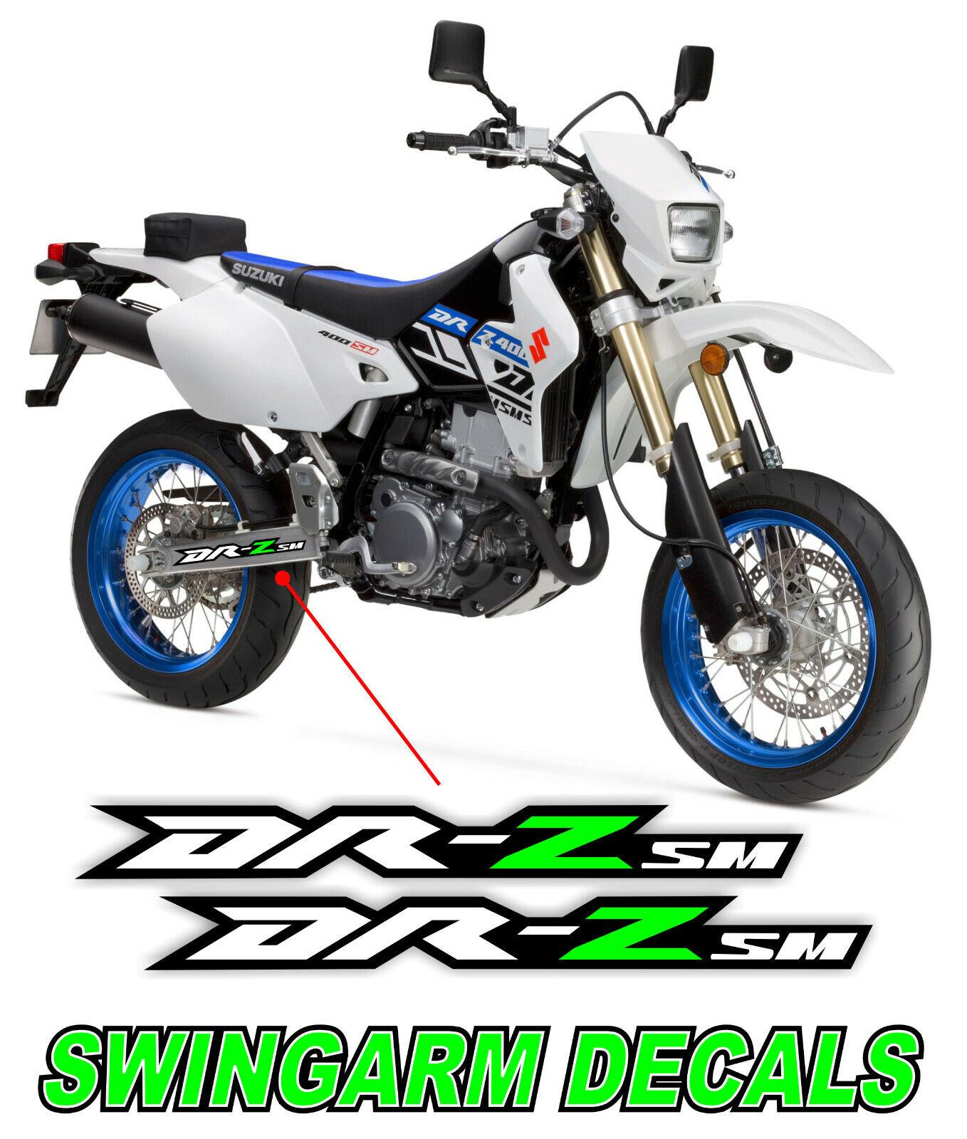Suzuki Dekor FULLKIT DRZ 400 Aufkleber Supermoto Decals DR-Z400