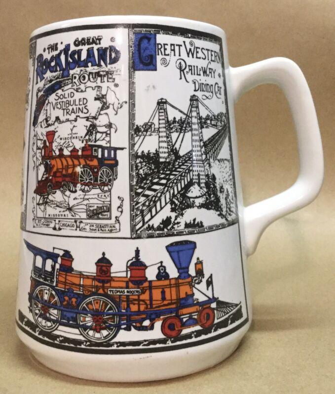 Train, Railroad Cup, Mug, HH Japan, EC