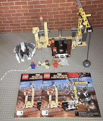 Lego 76037 Super Heroes Spiderman: Rhino and Sandman Super Villain Team-up