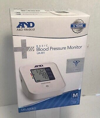A&D Medical Blood Pressure Monitor Latex and Metal Free Cuff