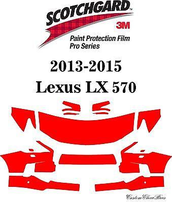 3M Scotchgard Paint Protection Film Pro Series 2013 2014 2015 Lexus LX 570