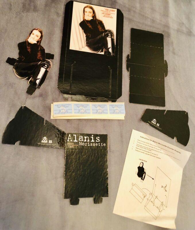 Alanis Morissette You Learn Counter Display CD Holder Rare Promo Vintage