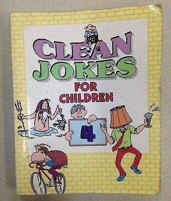 Clean Jokes for Children 4, Tiny Tot Publications (PD, 1999)