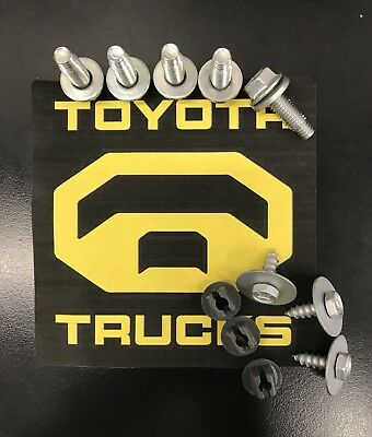 Toyota Tundra  Factory Metal Skid Plate Bolts 2007 2017