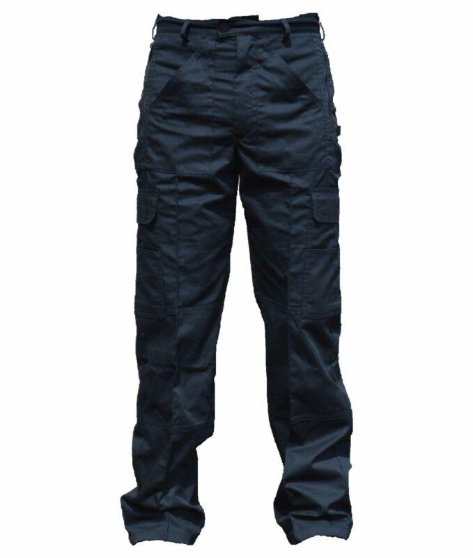 New Male Cargo Trousers Black Tactical Patrol Dog Handler D3N