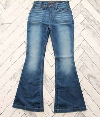 Decree High Rise Flare Jeans Sz 9 with 33