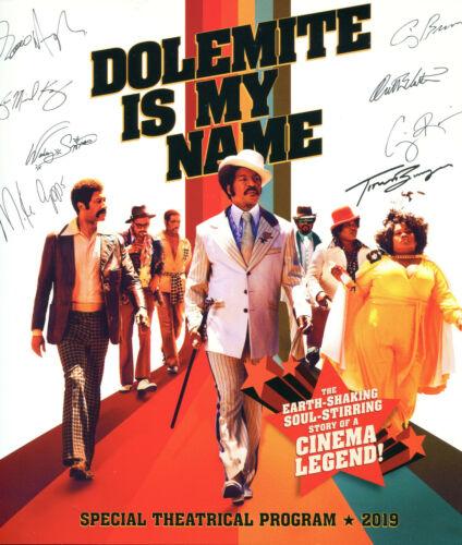 DOLEMITE IS MY NAME Limited 24-pg Souvenir PROGRAM BOOK LA Premiere Eddie Murphy