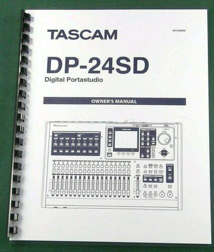 Tascam DP-24SD Owner