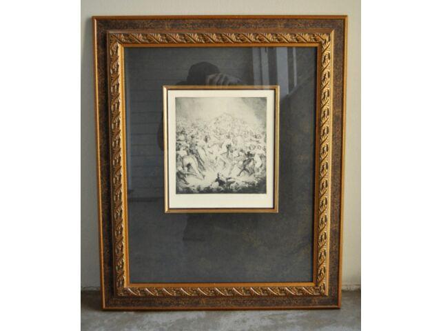 Norman Lindsay Limited Edition Framed Facsimile Etching – Dance