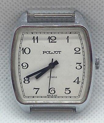 Poljot Men's Watch 17 Jewels USSR/Russia Works Wa3