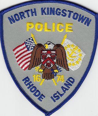 NORTH KINGSTON RHODE ISLAND RI POLICE PATCH