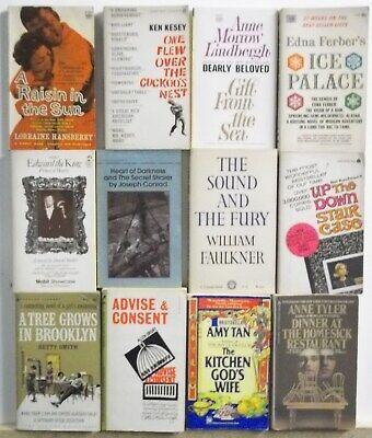 Lot of 12 POPULAR BEST SELLING NOVELS Free US Shipping Read List Lot (List Of Best Novels)