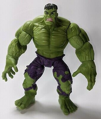 "GREEN HULK 7"" action figure 2008 Hasbro Marvel Legends Fin Fang Foom wave"
