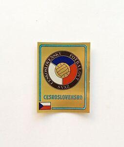 Panini-Euro-84-1984-Ceskoslovensko-Badge-Number-232-With-Original-Back