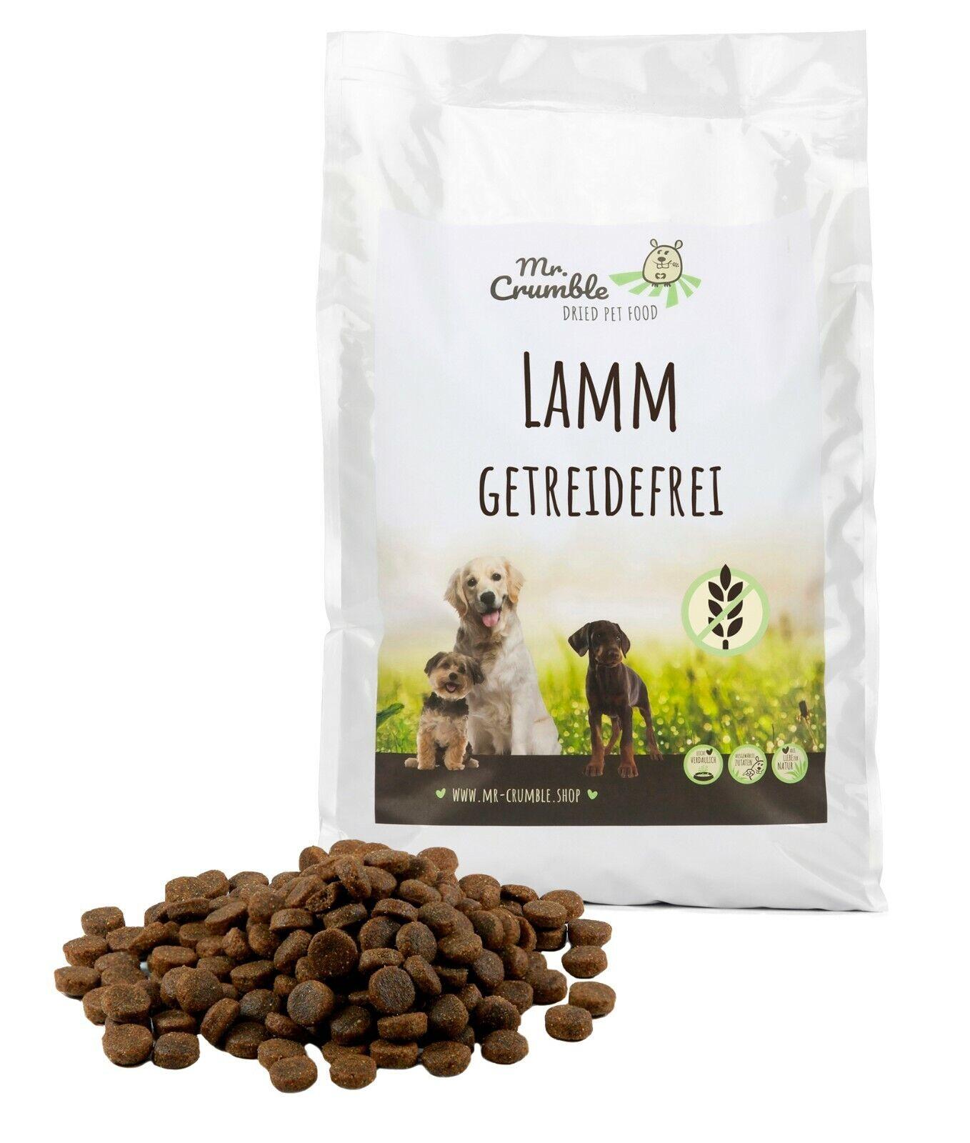 Hundefutter getreidefrei 15 kg mit Lamm Trockenfutter glutenfrei sensitiv