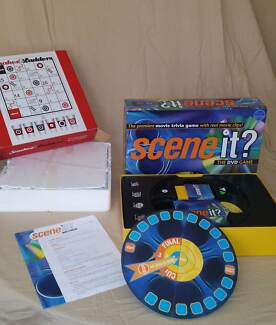 Scene It Board Game and Snakes and Ladders drinking game Clarence Park Unley Area Preview