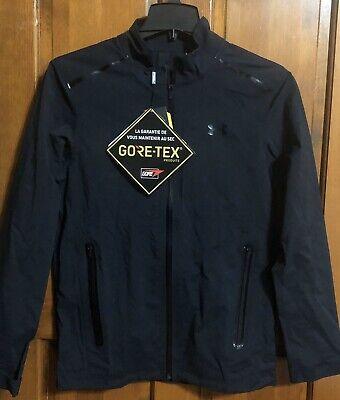 Under Armour Gore-Tex Paclite FZ Size Small Jacket Waterproof Golf Run  $299