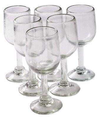 Orion Mexican Glassware Natural 11 oz Tulip Wine - Set of 6
