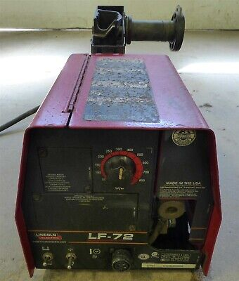 Lincoln Lf-72 Mig Welder Wire Feeder