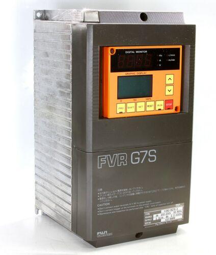 Fuji Electric Drive FVR015G7S-2 FVR G7S 200-230V 50/60HZ