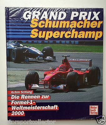 Formel 1 Jahrbuch >> Grand Prix 2000 << Achim Schlang, Motorbuch Verlag