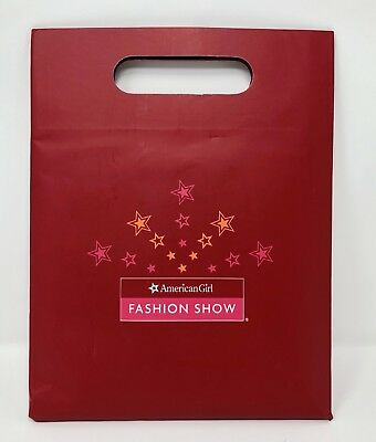 American Girl Fashion Show Paper Doll Crafts Gift Set & Book