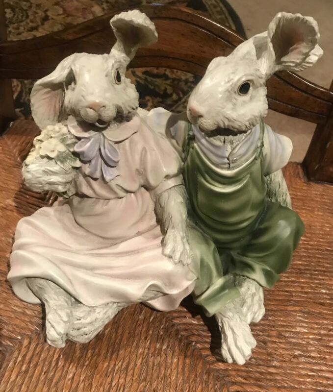 Mr. and Mrs. Easter Bunny Rabbit