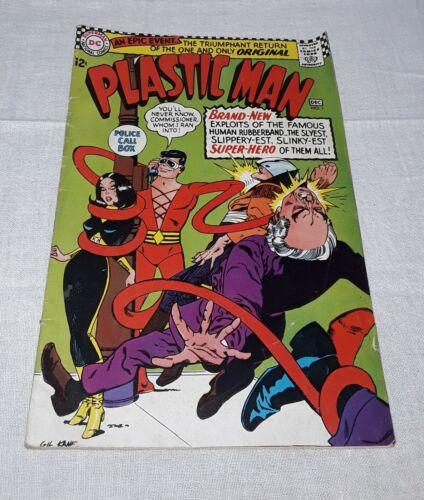PLASTIC MAN #1 DC COMICS 1966