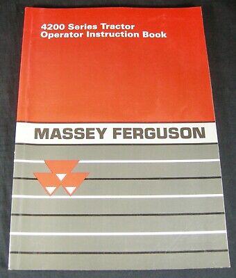 Massey Ferguson 4200 Series Tractor Manual 4225 4233 4235 4243 4245 4253 4255