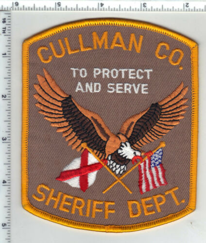 Cullman County Sheriff (Alabama) 4th Issue Shoulder Patch