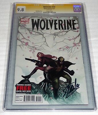 Wolverine #315 CGC SS Signature Autograph STAN LEE Old Costume CVR Marvel Comics