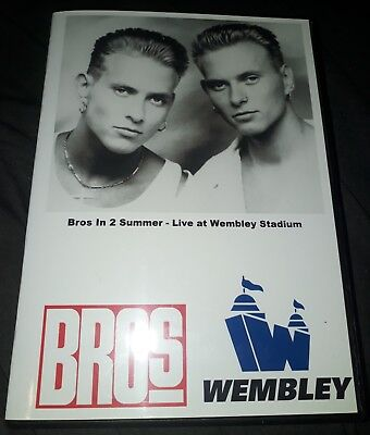 Bros - In 2 Summer - Wembley Stadium 1989 Concert DVD & Bonus - Matt Luke Goss