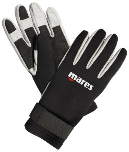 Mares Pure Instinct Amara 1.5mm BK/WH Five Finger Gloves All Sizes