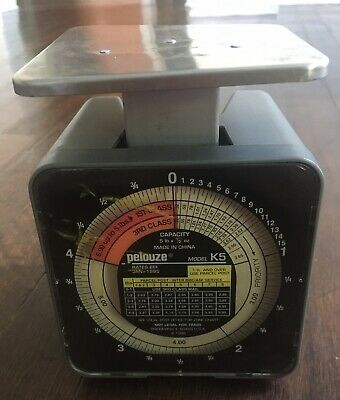 Pelouze 5 Lb. Postal Scale Model K5---vintage Used Model1996