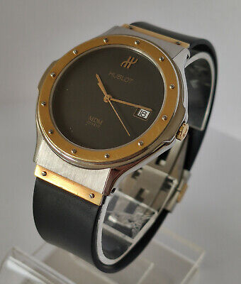 HUBLOT MDM Geneve Steel & Gold Quartz Watch (1521 100 2)