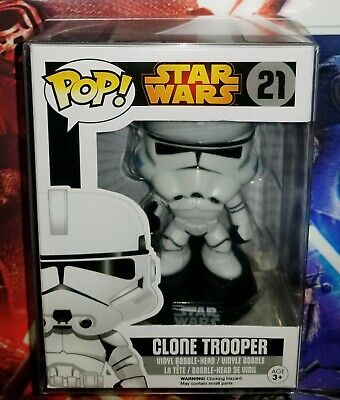 Clone Trooper #21 with soft protector case.