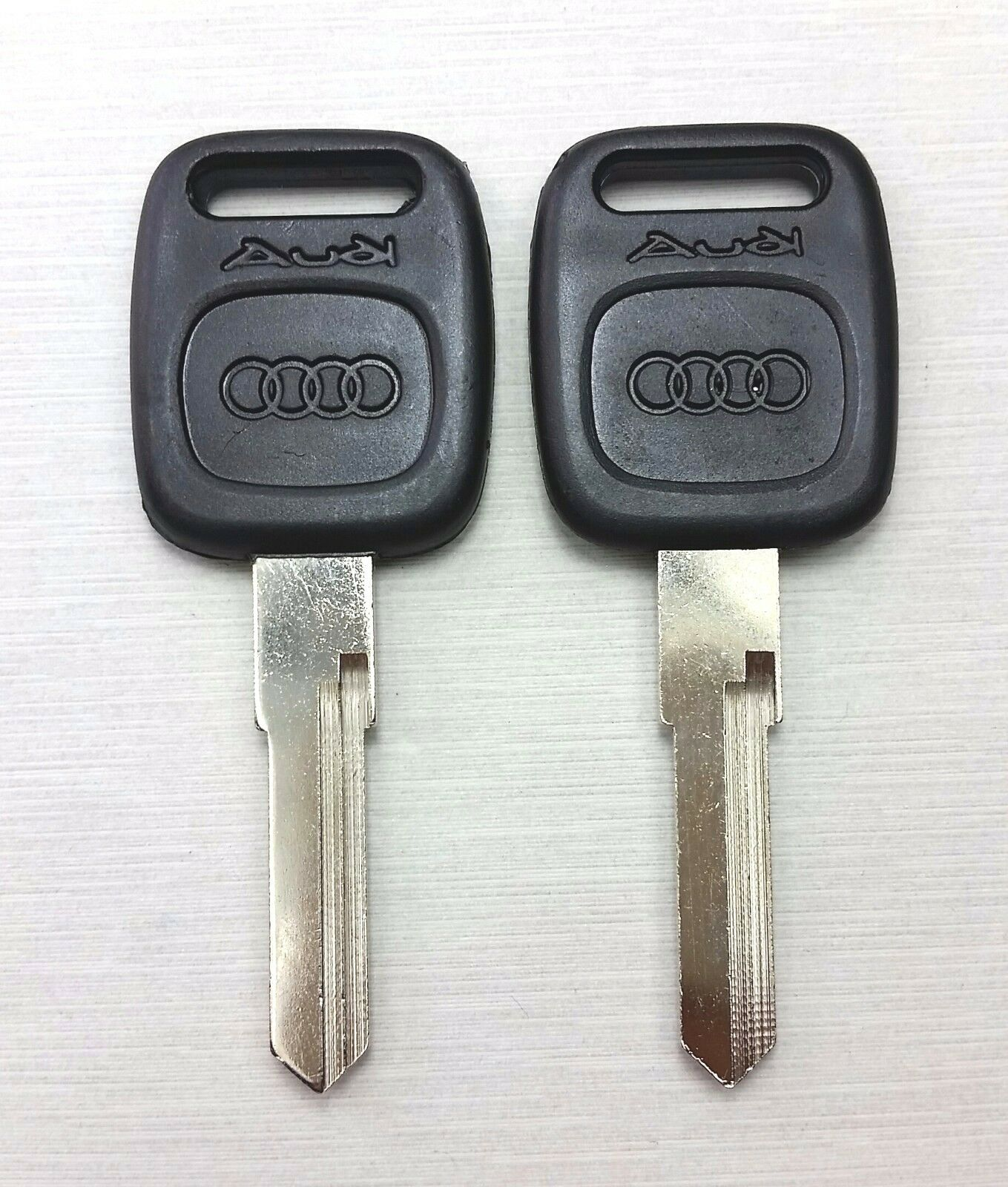 2X BLANK KEY FITFOR AUDI A4 A6 A8 Cabriolet S4 TT 80 90
