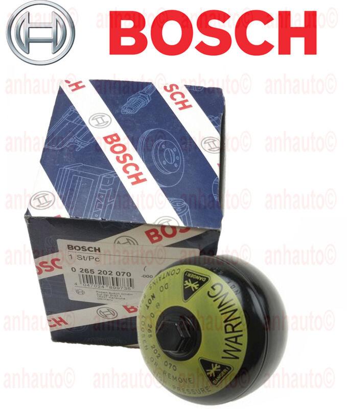 New Bosch Brake Pressure Accumulator 0265202070 Mercedes
