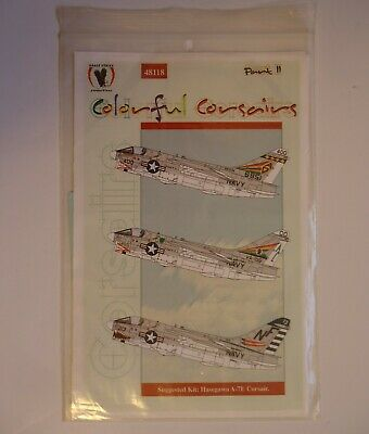Eagle Strike Productions 48118 1/48 Colorful Corsairs A-7 Part II