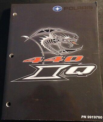 Manuals Polaris 440 Trainers4me