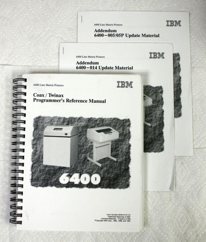 IBM 6400 Line Matrix Printer Coax / Twinax Programmer