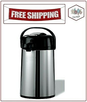 Members Mark Stainless Steel 2.2 L Airpot Wlever