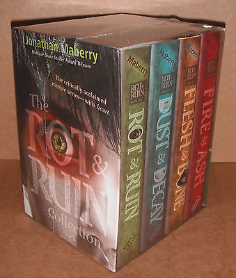 The Rot and Ruin Collection Box Set by Jonathan Maberry Hardcover NEW on Rummage