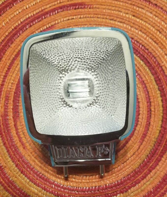 Lomography Lomo Diana Flash Blue Vintage-Cool for Diana F+ or Mini Film Camera