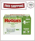 Huggies Natural Care Baby Wipe Refill, Fragrance Free (1,040 ct.